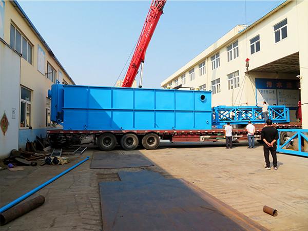 地埋式一体化污水处理设备具体操作步骤