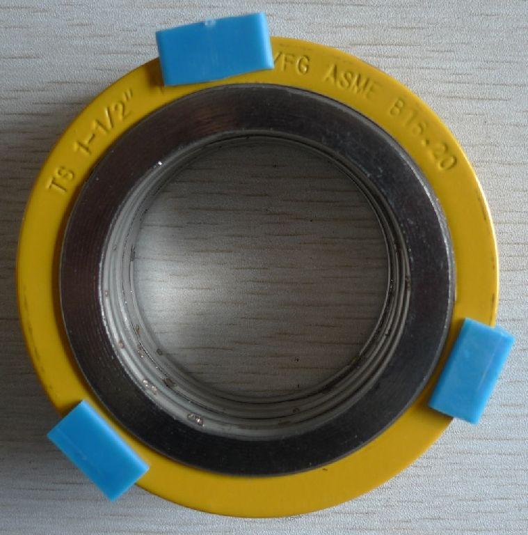 耐腐蚀手孔垫片,金属内加强环缠绕垫片
