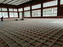 张家界室内篮球场运动木地板来长沙君磊