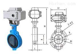 D971X-10给排水电动蝶阀