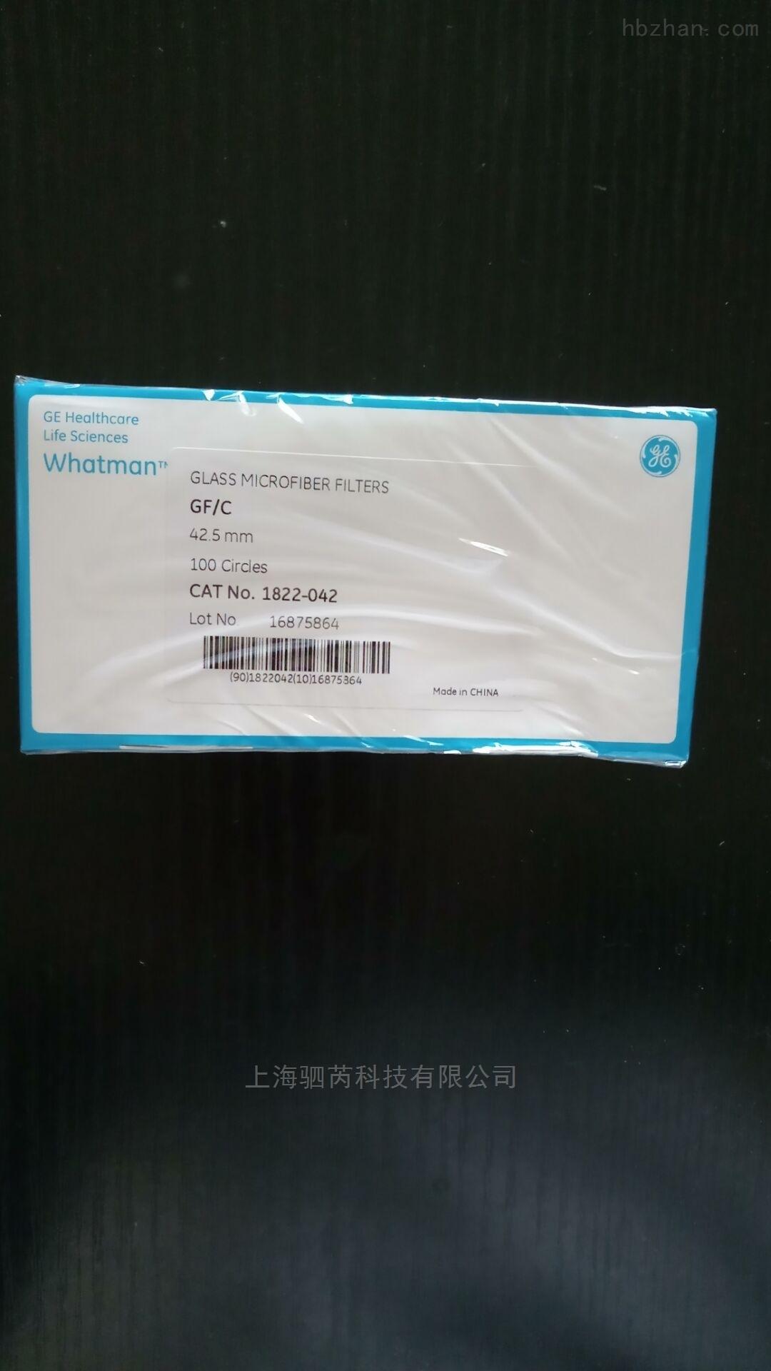 whatmanGF/C玻璃纤维滤纸1822-042