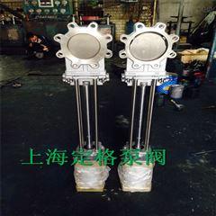 PZ673W-10NR DN150气动高温刀型闸阀