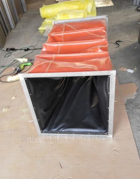 高速凹版印刷机方形耐温通风软连接