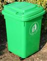 户外垃圾桶带轮带盖塑料垃圾桶环卫垃圾桶