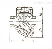 CS19H圓盤式蒸汽疏水閥