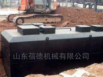 地埋式农村生活污水处理设备