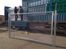 金属网护栏杆