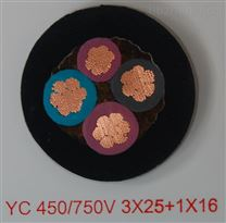 YZ通用橡套电缆5*1.5中型软电缆300/500V
