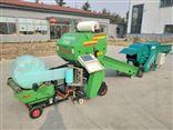 农补秸秆青贮打捆机 圆捆包膜机