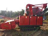 1800履带式玉米秸秆收割机 自走式青饲料收获机