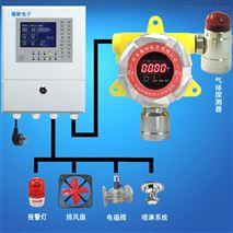 化工厂厂房天然气泄漏报警器,联网型监测