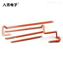 新能源浸塑折弯铜排 配件电气成套连接