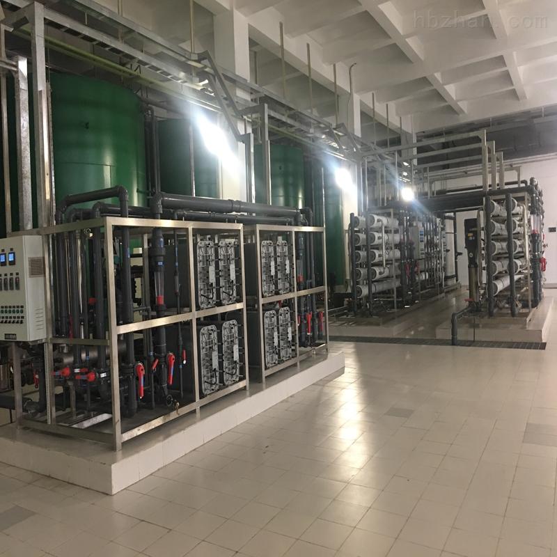 EDI陆续电除盐水处置系统