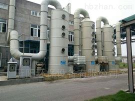 江苏食品厂废气处理喷淋塔+UV光氧催化设备