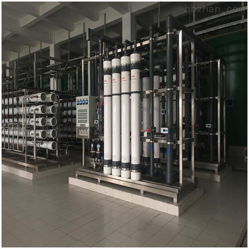 全膜法電廠化學水處理盤濾超濾反滲透EDI