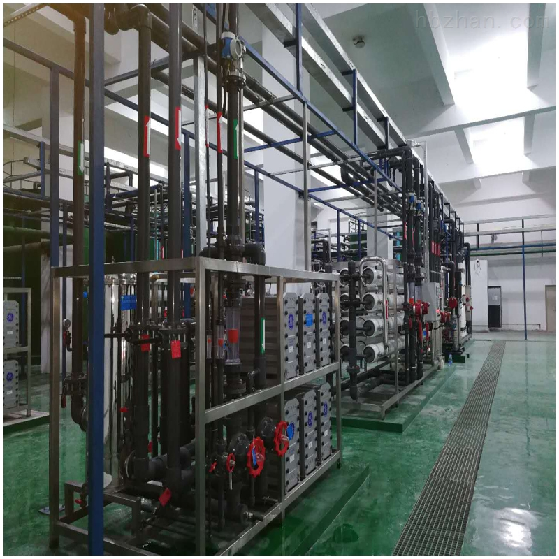 25吨/时二级反渗透+EDI+SMB超纯水系统