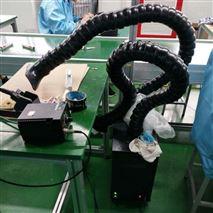 高效吸烟过滤焊锡烟尘净化机流水线如何排烟