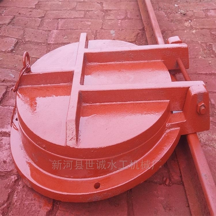 DN800-泵站铸铁拍门型号齐全,质量可靠