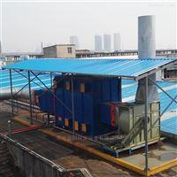 纺织印染厂定型机废气处理方案