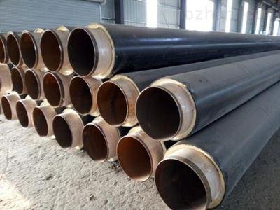 高密度聚乙烯直埋聚氨酯保温管 生产施工