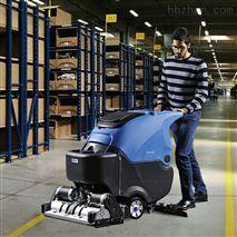 重慶手推式式工廠拖地機洗地吸幹機