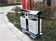 钢板垃圾箱制作-hc2204户外垃圾桶 小区垃圾箱