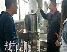 D60天妇罗蔬菜饼上浆机可连接西蓝花裹粉机使用