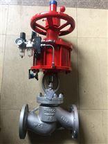 氣動鑄鋼法蘭截止閥J641H