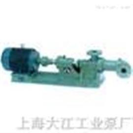 I-1B2寸不锈钢螺杆泵(浓浆泵)