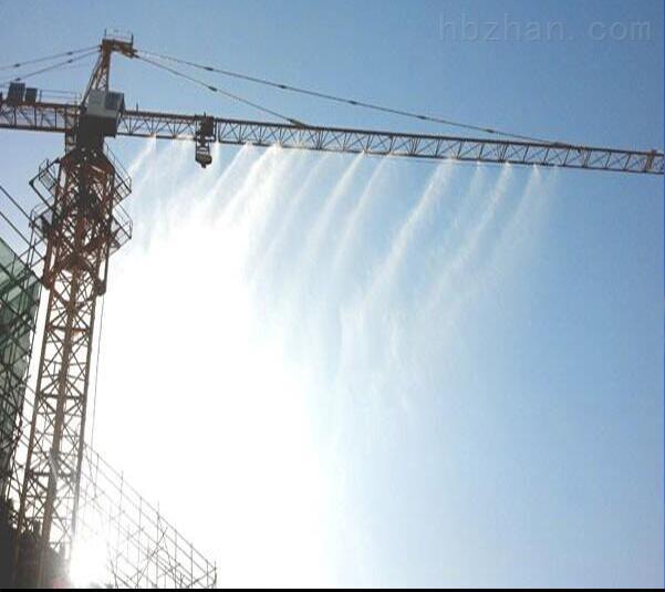 宜昌塔吊喷淋系统厂房围挡喷淋高空降尘