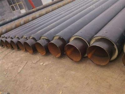 直埋热力预制保温管聚氨酯发泡管道保温施工