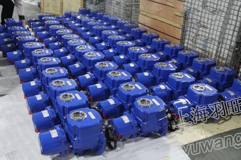 电动智能一体化电装防爆带调节遥控阀
