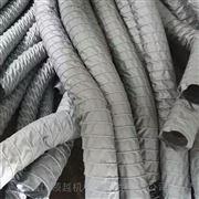 灰色阻燃布排煙通風軟連接