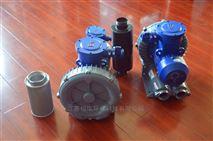 雙葉輪旋渦氣泵.雙段式高壓風機