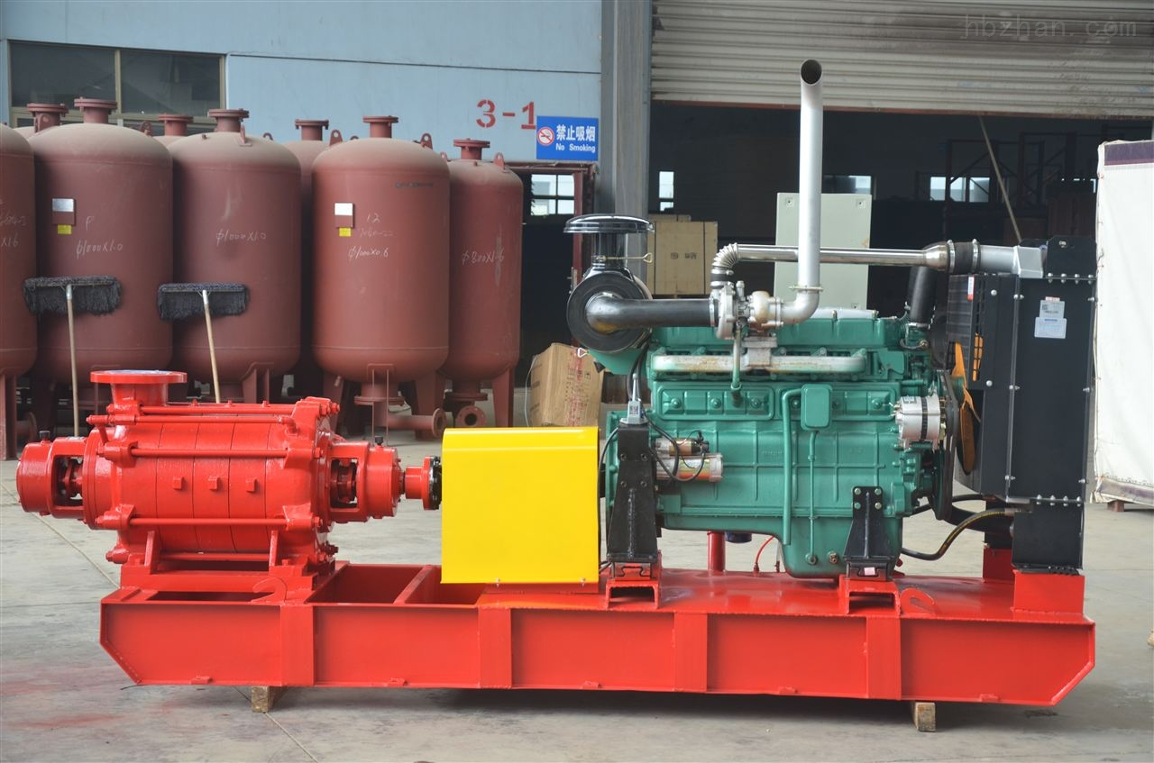 卧式恒压柴油机消防泵