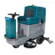 大型双刷座驾式洗地机