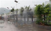 贵州都匀工地厂房降温降尘雾化围挡喷淋设备
