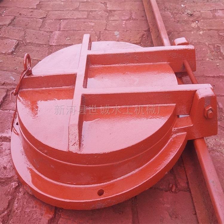 泵站用拍门、泵站用铸铁闸门厂内发货