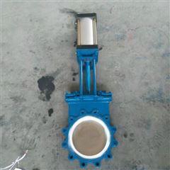 PZ673TC-10C气动薄型陶瓷排渣刀闸阀