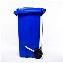 240升环卫脚踩垃圾桶-重庆垃圾箱厂家直销