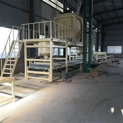 砂浆岩棉板复合设备成套生产线