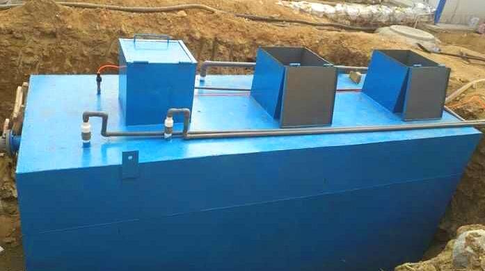 农村生活一体化废水处理设备原理