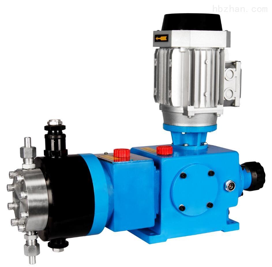 柱塞式大流量高壓力計量泵