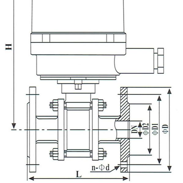 电动球阀MGQⅡ-PN16~64P
