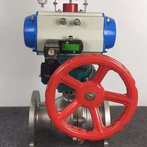 气动不锈钢球阀Q641F-16P