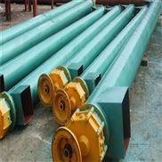 立式螺旋输送机  大倾角绞龙  管式供货商