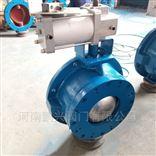 YDF气动圆顶阀充气式进料阀球形气锁阀