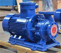 ISWB80-200A卧式防爆型管道离心泵