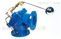 100A角型定水位閥水力閥