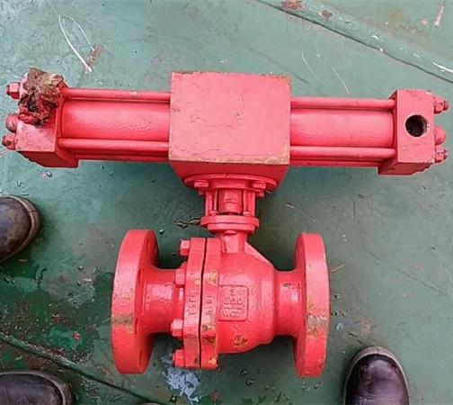 Q747F300LB-10液动球阀